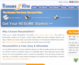 resume 2 hire review the best resume writing service reviews